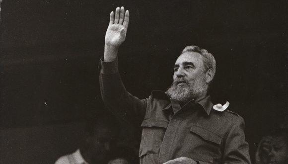 El Comandante en Jefe Fidel Castro Ruz participa de los Juegos Panamericanos de 1991. Foto: Archivo.
