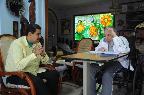 Fidel Castro y Nicolás Maduro Moros en Cuba a3abf44c606