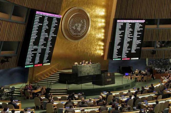 Cada año en la ONU la mayoría de las naciones del mundo denuncian el bloqueo de Estados Unidos hacia Cuba. Foto: Prensa Latina