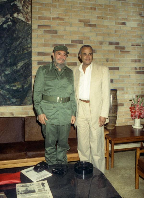 Image result for harry belafonte and fidel castro