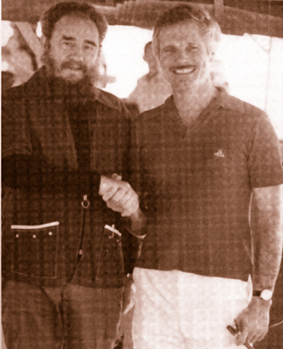 Fidel Castro y Ted Turner