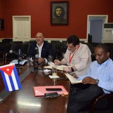 Fotos: Embajada de Cuba en China