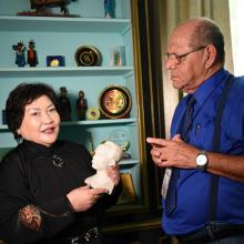 La diplomática destacó que Cuba fue el primer país del continente americano que estableció una realción diplomática con Mongolia. Foto/ Prensa Latina