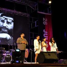 Artistas cubanos rinden tributo al Comandante en Jefe Fidel Castro Ruz