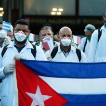 Seit ihrer Ankunft in Italien haben die kubanischen Ärzte bereits 400 Behandlungen verschiedener Art durchgeführt. Foto: Botschaft Kubas in Italien