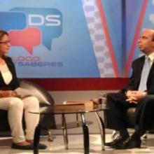 Rogelio Polanco en el canal venezolano Vive TV. Foto tomada de Cubaminrex