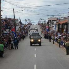 Caravana de la Libertad traslada los restos del Comandante en Jefe Fidel Castro Ruz