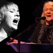 La cantante estadounidense de folk, blues y jazz Barbara Dane estuvo entre las participantes en el concierto en línea. Foto: KPFA