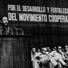 12 de abril de 1959.- Fidel inaugura en Camagüey el Primer Congreso Provincial Revolucionario Campesino.