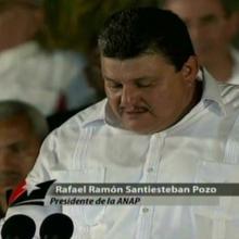 Rafael Santiesteban Pozo, presidente de la Asociación Nacional de Agricultores Pequeños