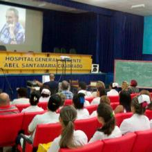 Jornada de homenaje al Comandante en Jefe Fidel Castro. / Fotos: Ramón Brizuela Roque