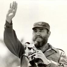 Fidel Castro en el Día Internacional de los Trabajadores en Cuba, 1ro de mayo de 1978