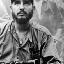 Fidel Castro en la Sierra Maestra