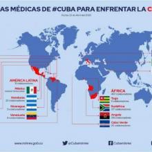 Die 22 kubanischen Medizinbrigaden des Kontingents Henry Reeve retten Leben in mehr als 20 Nationen. Photo: MINREX