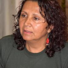 Gilma Gómez Oliveros, coordinadora de la comitiva, expuso que el objetivo de quienes integran la delegación es ofrecer un mensaje de gratitud a los cubanos por sus esfuerzos en los diálogos de paz. Foto: (cortesía ICAP), Karoly Emerson