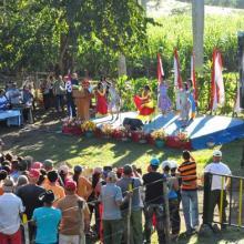 Conmemoraron en Cinco Palmas 61 años del reencuentro de Fidel y Raúl. Foto: Rafael Martínez