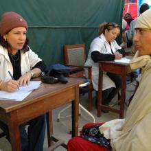 En el 2005, la brigada médica cubana en Pakistán atendió a más de 1 700 000 pacientes. Foto: Juvenal Balán