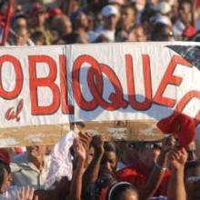El pueblo cubano exige el fin al bloqueo económico, comercial y financiero de Estados Unidos. Foto: Archivo de Granma