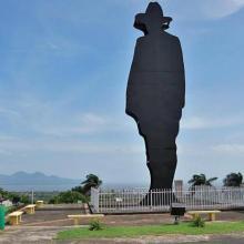 Estatua del General Augusto César Sandino, Héroe Nacional de la República de Nicaragua, que asombró al mundo derrotando a los marines yanquis. Foto: La voz del sandinismo