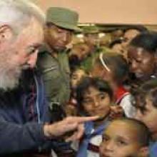 Fidel experimentó siempre un gran amor por los niños. (Foto: rediohc.cu).