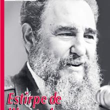 """Portada de la revista chilena """"Punto Final"""", dedicada a Fidel.."""