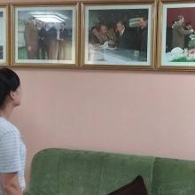 Imágenes de Fidel Castro en Corea del Norte