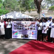 Velada solemne de recordación al líder cubano Fidel Castro