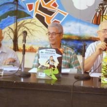 Presentación de dos libros de historietas de la Editorial Pablo, en la Casa del Alba Cultural (Foto: JGC)
