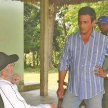 Fidel Castro en la Finca Marta
