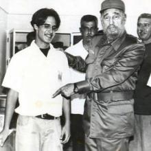 Fidel en Morón