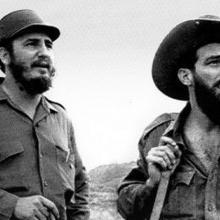 Fidel Castro y Camilo Cienfuegos