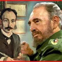 Dos grandes hombres de la historia, Fidel Castro Ruz y José Martí