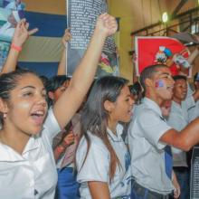 Jóvenes cubanos ratifican su apoyo al proceso revolucionario