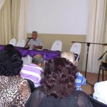 René González Barrios, presidente del Instituto de Historia de Cuba, disertó sobre el internacionalismo y la solidaridad en Fidel Castro Foto: Miguel Febles Hernández.