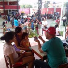 A tres semanas de su llegada a Perú, la brigada médica cubana ha realizado numerosas consultas. Foto: ACN