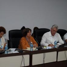 Miguel Díaz-Canel en la comisión de Atención a la Juventud, la Niñez y la Igualdad de Derechos de la Mujer