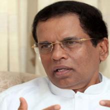 Presidente de Sri Lanka, Maithripala Sirisena