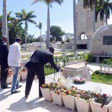 El Primer Ministro del Congo calificó a Fidel como un símbolo para el mundo. Foto: Jorge Luis Guibert