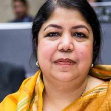 Líder del Jatiyo Sangshad (legislativo de Bangladesh), Shirin Sharmin Chaudhury