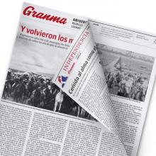 Suplemento especial dedicado al aniversario de las Guerras por la Independencia de Cuba