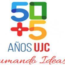 """Logo alegórico al cumpleaños 55 de la Unión de Jóvenes Comunistas (UJC) y el 56 de la Organización de Pioneros """"José Martí"""""""