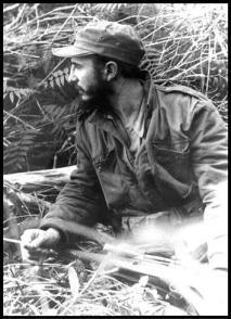 El Comandante en Jefe Fidel Castro Ruz durante la batalla de El Jigüe.