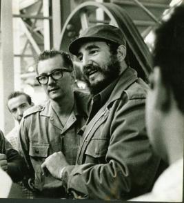 Una profunda amistad, forjada en el calor de la lucha, unió a Armando Hart y a Fidel. Foto: roberto salas