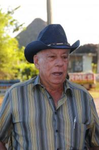 ALFREDO Acosta, presidente de la CPA Héroes de Yaguajay. OTOS: HUMBERTO LISTER