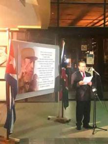 El embajador cubano en Namibia, Giraldo Mazola, detalló algunos de los momentos de la incansable actividad de Fidel, captados por los lentes de PL. (Foto: EmbaCubaNamibia)