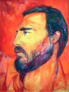 Fidel visto por Servando Cabrera Foto: Archivo de Granma