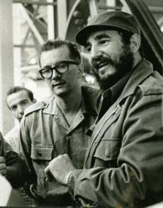 Fidel Castro y Armando Hart Autor: Tomado de Internet