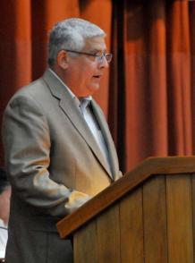 José Luis Toledo Santander, presidente de la Comisión de Asuntos Constitucionales y Jurídicos del Parlamento.