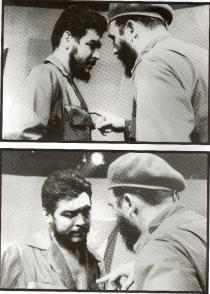Fidel Castro y el Che Guevara en 1961