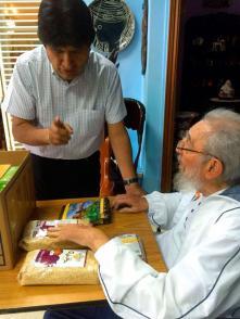 Evo Morales y Fidel Castro Ruz en Cuba